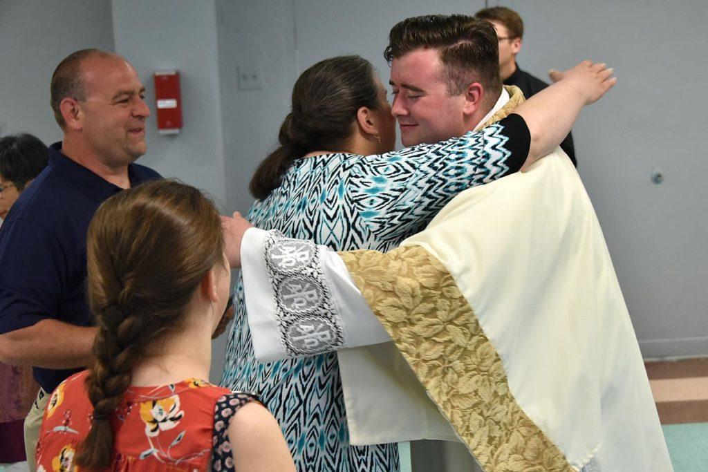ordination of fr  mcnicholas and rev  mr  mcdaniel