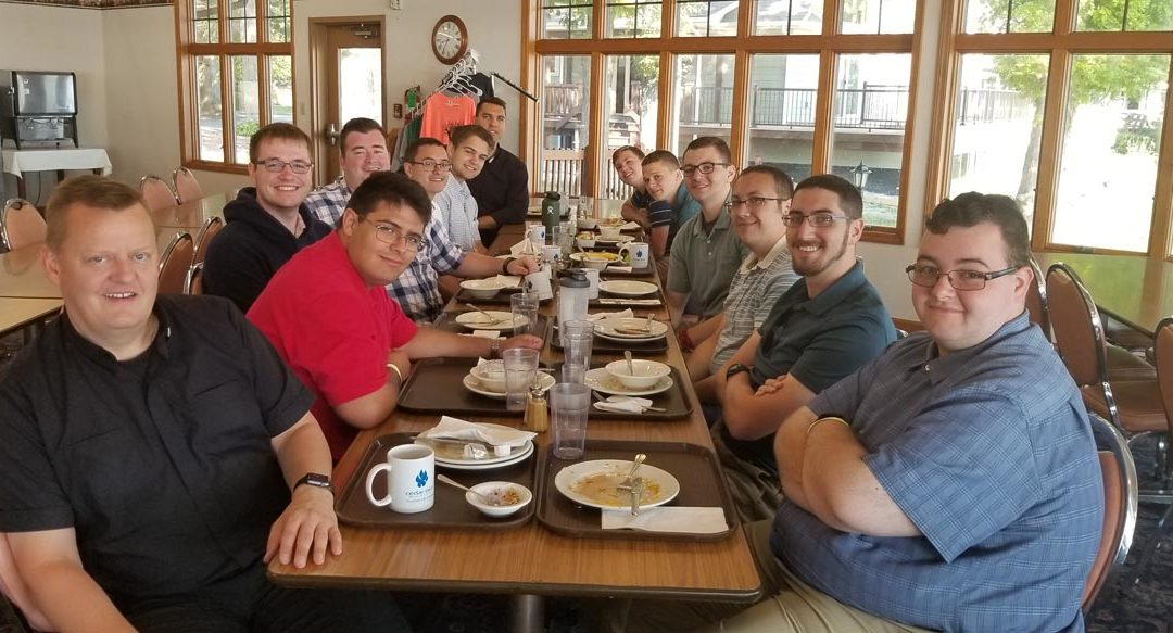 Summer Seminarian Retreat at Cedar Lake Ministries (2019)